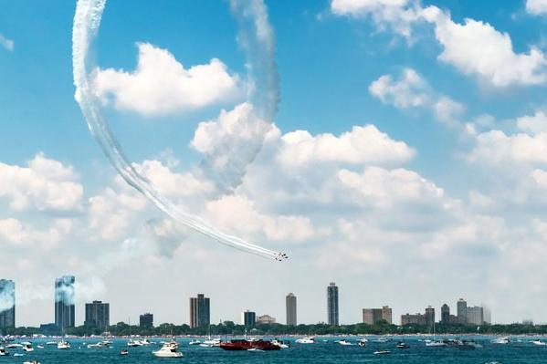 Odyssey Chicago Air & Water Show Cruises