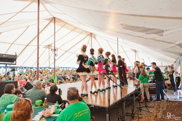 Inishfree Irish Dancers at St. Patrick's Day Austin