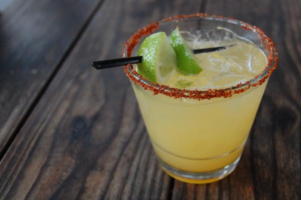 Mango Habanero margarita from Jack Allens Kitchen