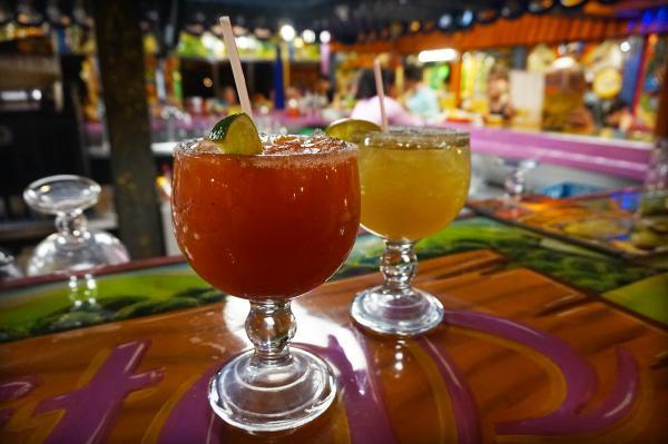 Dos Margaritas' margarita in Fort Wayne, Indiana
