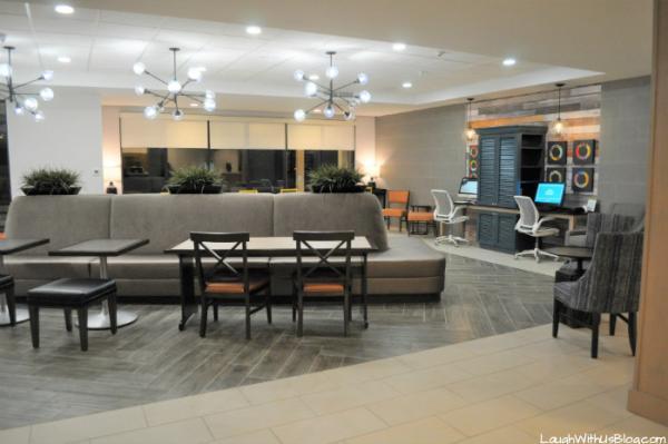 Home2 Suites Merrillville lobby