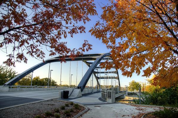 MLK Bridge Fall