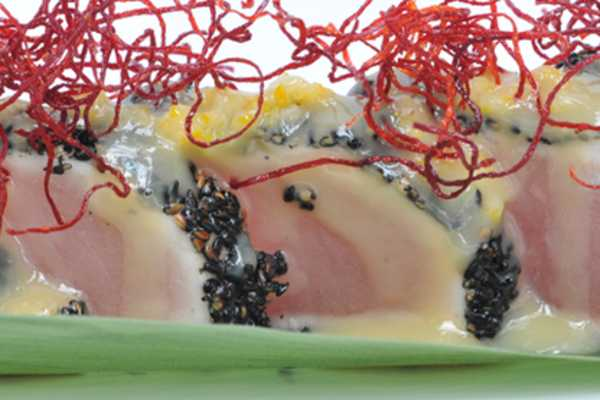 Black Sesame Encrusted Tuna