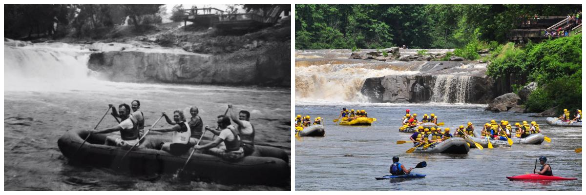 Rafting on the Youghiogheny Then and Now
