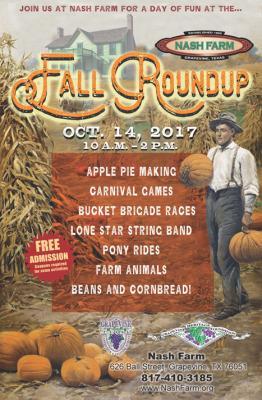 Nash Farm Fall Roundup
