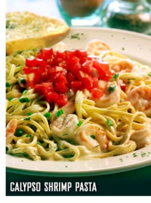 Recipe Bahama Breeze's Calypso Shrimp Pasta