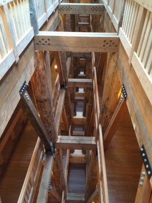 Ark from top floor