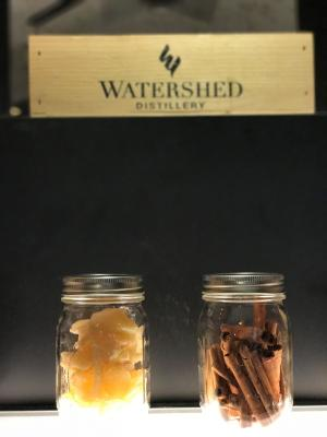 Watershed Display at Two Brother