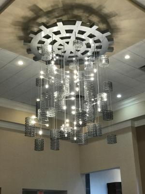 Marriot NW Chandelier