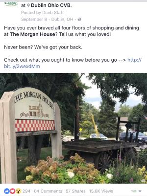 The Morgan House Facebook