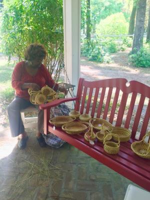 Sweetgrass Basket Weaving at Hopsewee Plantation