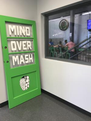Mind Over Mash Brewing taproom in Brownsburg