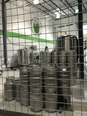 The whole setup at Mind Over Mash Brewing is fascinating - and in open view from the taproom
