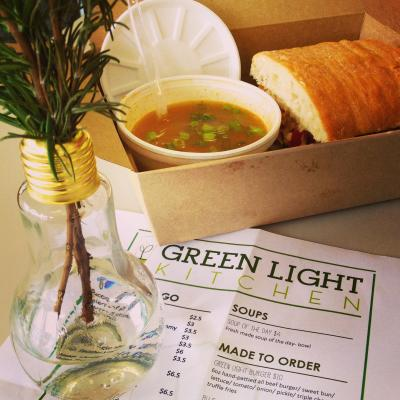 Green Light Kitchen in downtown Beaumont