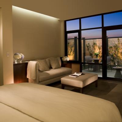 Bardessono suite in Napa Valley