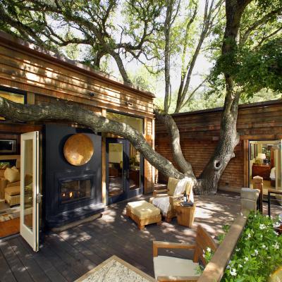 Calistoga Ranch patio