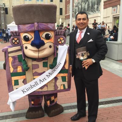 The Kimbell Art Museum's Hispanic Month Mascot