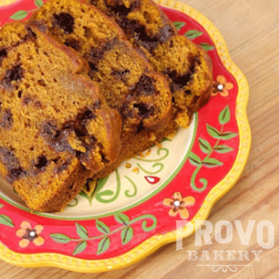 Provo Bakery Pumpkin Bread