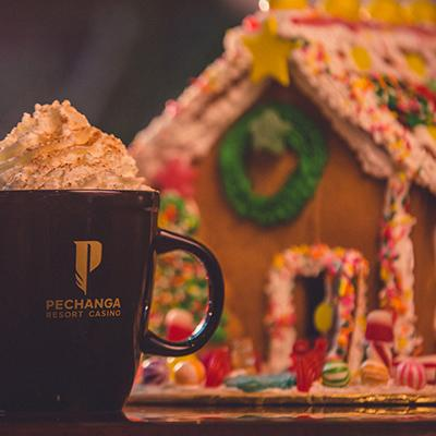 Pechanga Gingerbread Houses