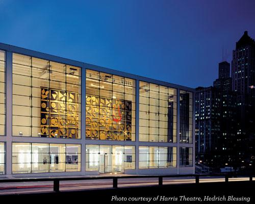 Harris Theater for Dance & Music in Chicago