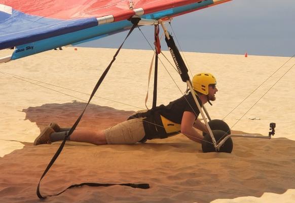 hang glide ground