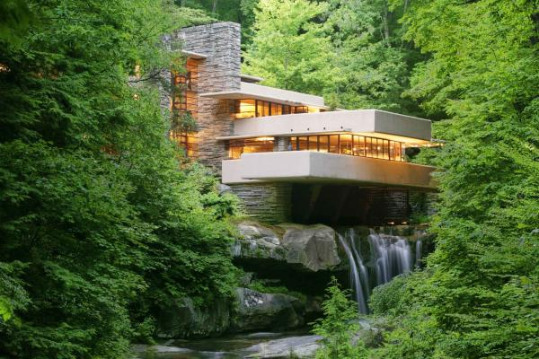 Frank Lloyd Wright Architecture laurel highlands, pa frank lloyd wright | fallingwater tours