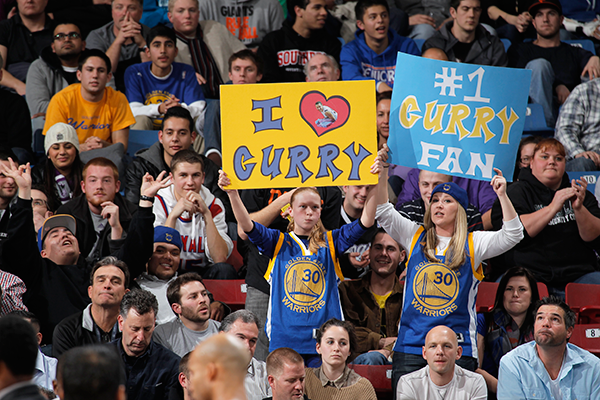 Steph Curry fans