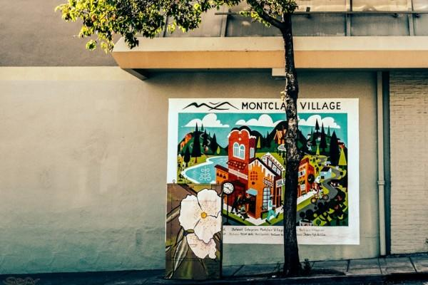 Montclair Village mural