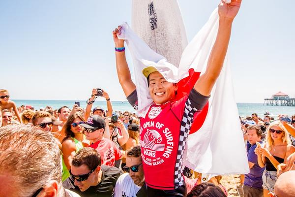 Vans is entering their fourth year as host of the US Open of Surfing