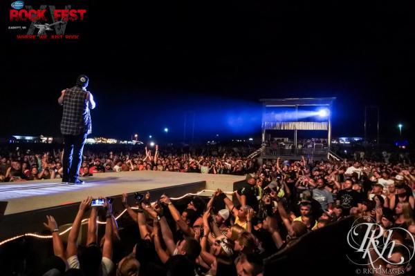 Rock Fest in Cadott, Wisconsin
