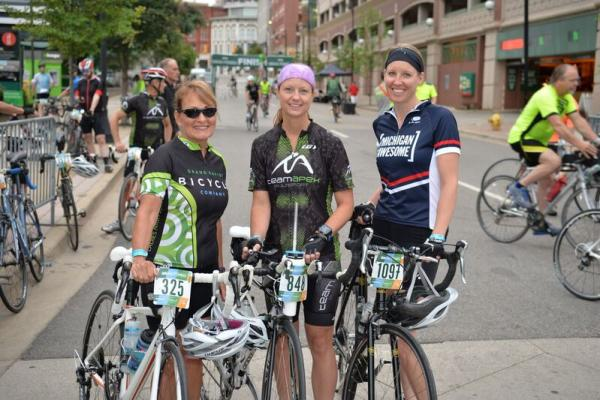 Gran Fondo riders