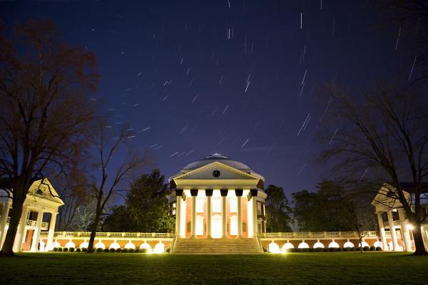 UVA Rotunda Night