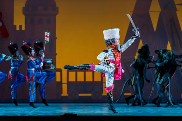 Ballet Austins The Nutcracker on stage