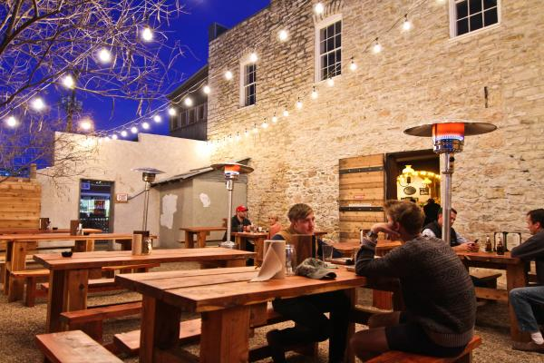 Freedmens beer garden