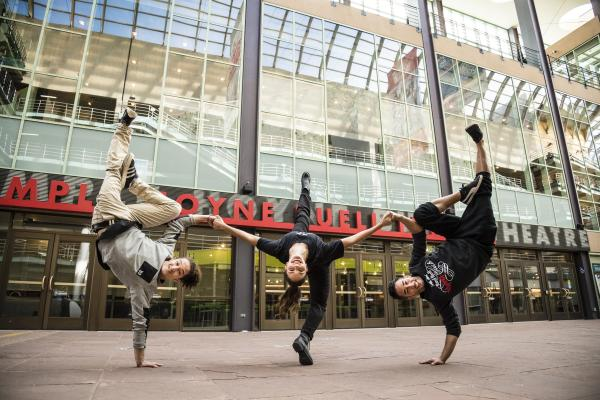 Red Bull Flying Bach dancers