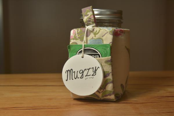 Mason Jar Cozies For Tea Drinkers at the Adventure Center
