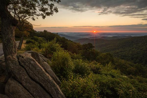 Shenandoah Summer Sunset