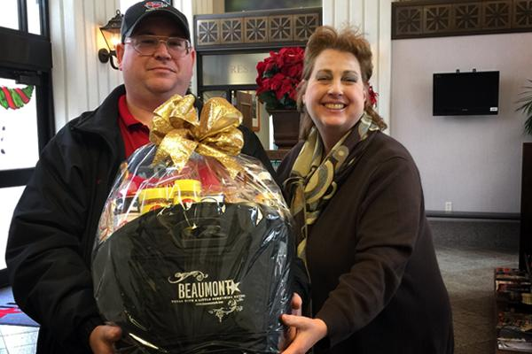 Gift Basket, Beaumont CVB