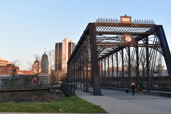 Historic Wells Street Bridge - Fort Wayne