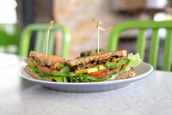 TLT sandwich at True Food Kitchen.