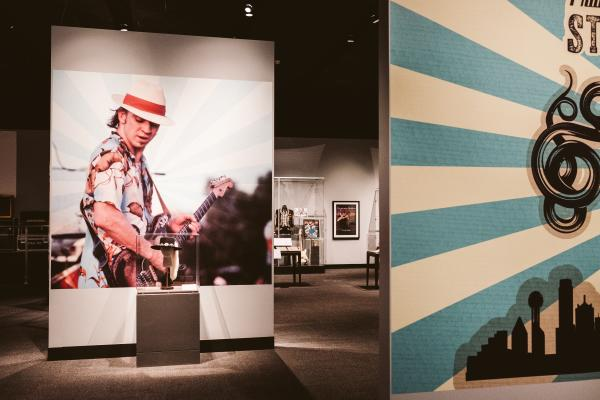 Stevie Ray Vaughan Exhibit at the Bullock Museum