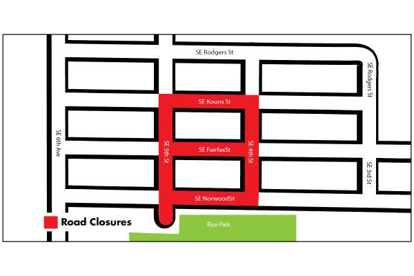 cyclovia east end map