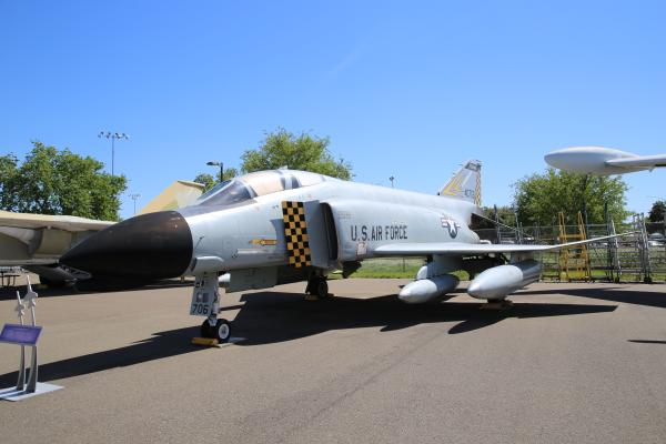 F-4 Phantom at Aerospace Museum of California