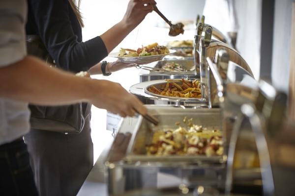 Buffet at Venue 252 by Steve Smith