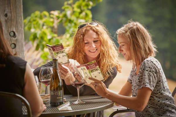 Pinot Bingo at Iris Vineyards by Turell Group