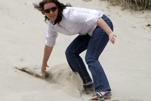 Sandboarding by Julia Carr