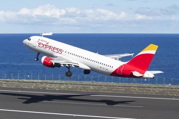 Iberia express avión