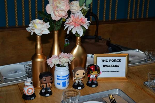 alaMar Stars Wars theme wedding