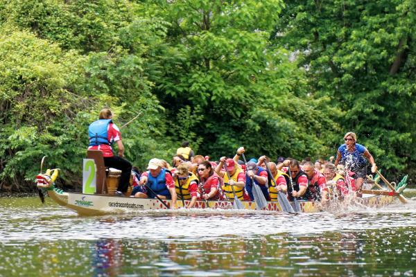 Dragon Boat Races Riverpalooza