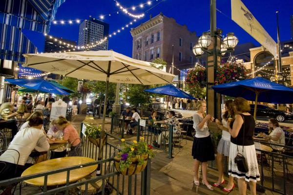 Dining on Larimer Square